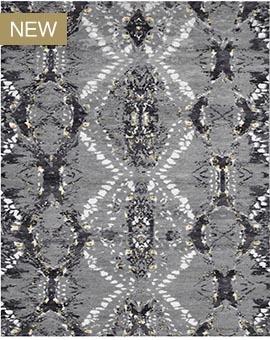 Snakeskin Black / White JY 001 BLWH