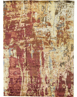 Canvas Art Collection  F1205 Rust / Ivory