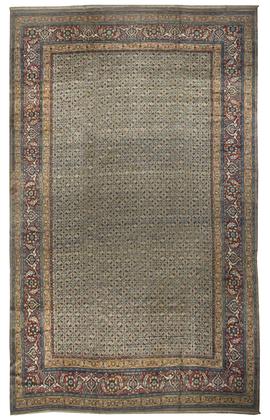 Vintage Persian Khorassan Rug  Circa 1920.