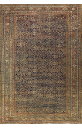 Antique Persian Feraghan Rug  Circa 1900.