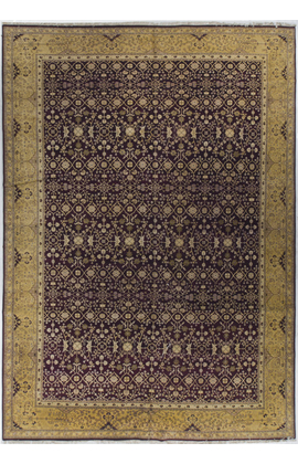 Antique Agra Rug Circa 1900