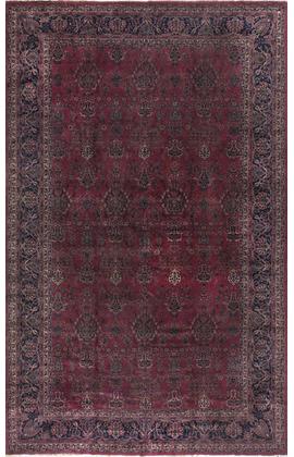 Antique Persian Kashan Rug Circa 1900