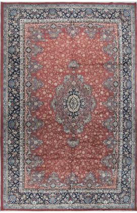Vintage Persian Sarouk Rug, Circa 1940.