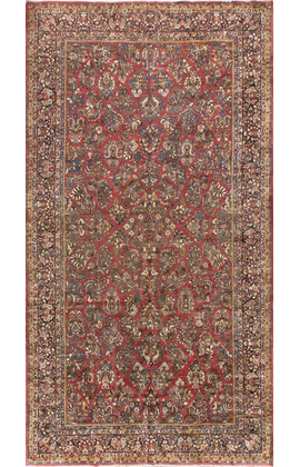 Antique Persian Sarouk. Rug Circa 1900