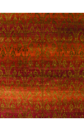 Contemporary Rug.Red
