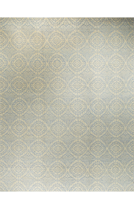 Modern Rug .Light Blue Cream