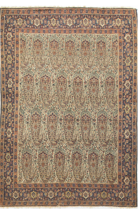 Antique Persian Senneh Rug Circa 1880