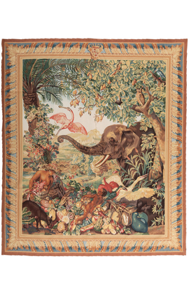 Detailed Wildlife Tapestry