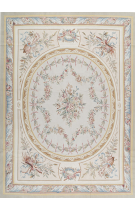 Aubusson AW-75 BEIGE  / GREEN
