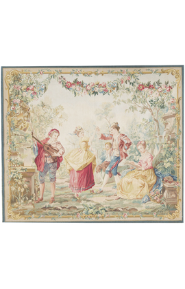 Recreation of a Traditional French Tapestry