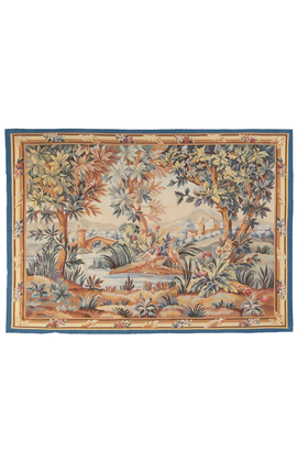 Elegant 18th Century Aubusson Style Tapestry