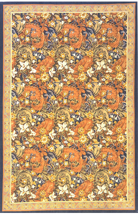 A Classic Floral Tapestry