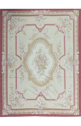 Aubusson Ivory / Red