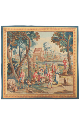 A Brussels 18th Century Teniers Style Tapestry