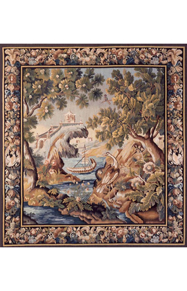 Recreation of an 18th century Brussels Verdure Tapestry