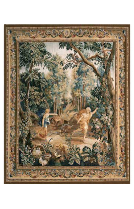 Recreation of a17th century Brussels Tapestry