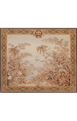 Recreation of a Classic 19th century Verdure Tapestry