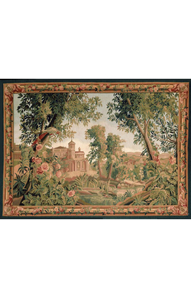 Recreation of an18th century Verdure, landscape Tapestry