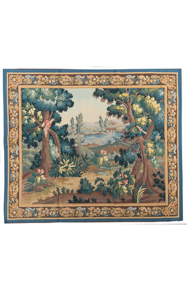 Recreation. of an 18th Century Verdure Style Tapestry