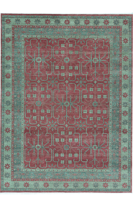 ANTIQUE SULTANABAD S-34 RED