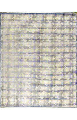 WINDSOM  MAT3L IVORY / BLUE