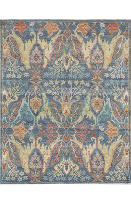 ANTIQUE SULTANABAD SULT2 BLUE / BLUE