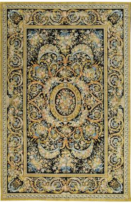 Renaissance Savonnerie.Black/Gold