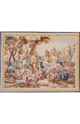Recreation of an 18th Century Gobelins design Tapestry