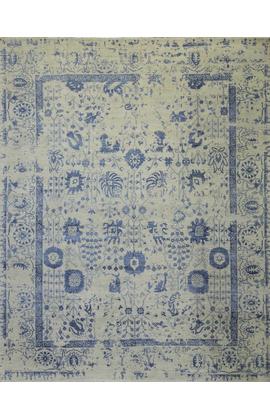 Modern Rug Silver Blue