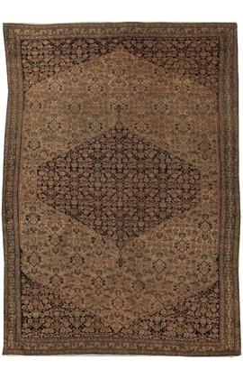 Antique Persian Senneh Rug circa 1880