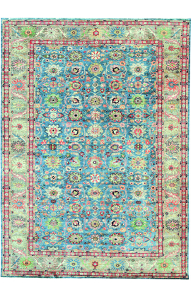 ANTIQUE SULTANABAD MAH20 BLUE / RED