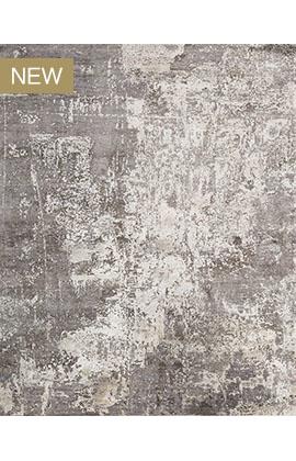 CANVAS ART W /SILK C8555 GREY / CHARCOAL
