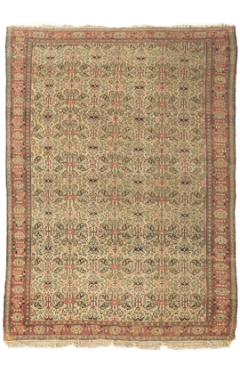 Antique Persian Senneh Rug circa 1900.