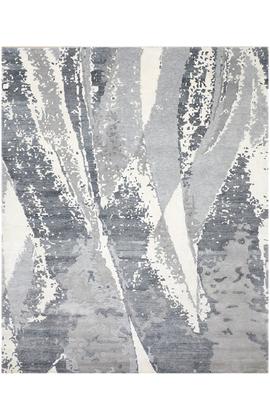 CANVAS ART B9614 GREY / BLUE