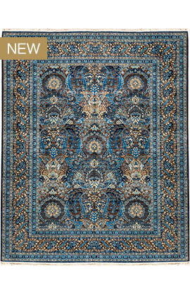 SIGNATURE SULTANABAD VEGETABLE DYE BLUE