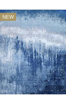 CANTERBURY SILK J1056 BLUE / LIGHT BLUE