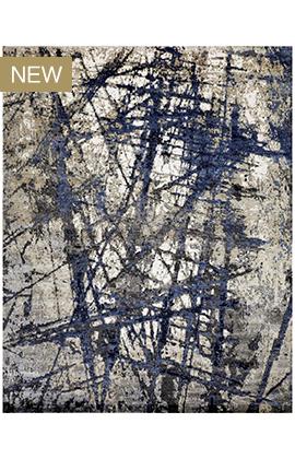 CANVAS ART HARPER GREY / BLUE