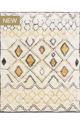 Moroccan Collection TZ173 IVORY / MULTI