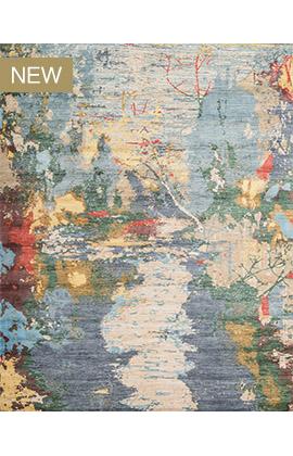 Canvas Art II E1316 BLUE / MULTI