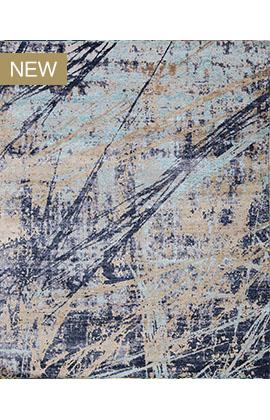 CANVAS ART COLLECTION RGS91 BLUE / LT BLUE