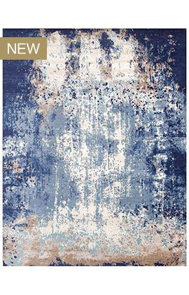 CANVAS ART W /SILK CR800 BLUE /  MULTI