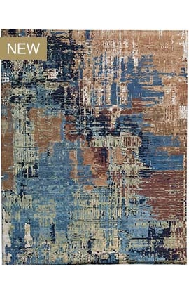 Canvas Art B-1606 Blue / Gold