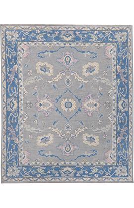 BODRUM OUSHAK SC065_SILVER / BLUE