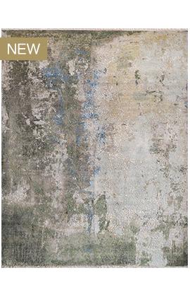 CANVAS ART W /SILK C2379 GREEN