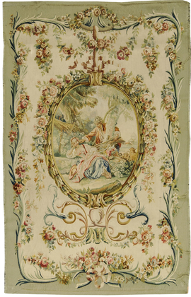A French 19th Century Aubusson Panel