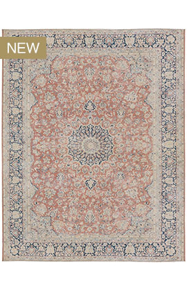 Persian Overdyed Rug Collection Blue / Silver