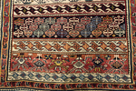 Antique Caucasian Shirvan Rug Circa 1880.