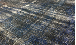 Overdyed Rug Collection Blue / Silver