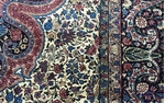 Vintage Persian Kerman Rug circa 1940