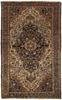 Antique Persian Farahan Sarouk Rug Circa 1890.